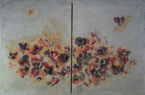 Flight at Noon Diptych