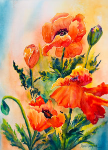 Pouring Poppies