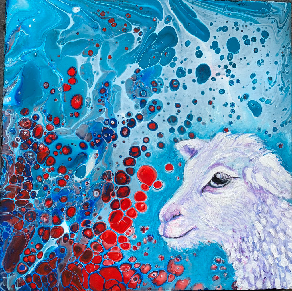 Red White and Baa-Lue