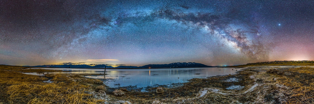 Milky Way Arch Over San Luis Lake