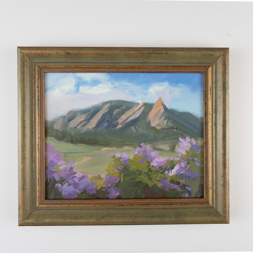 Lilacs At The Flatirons