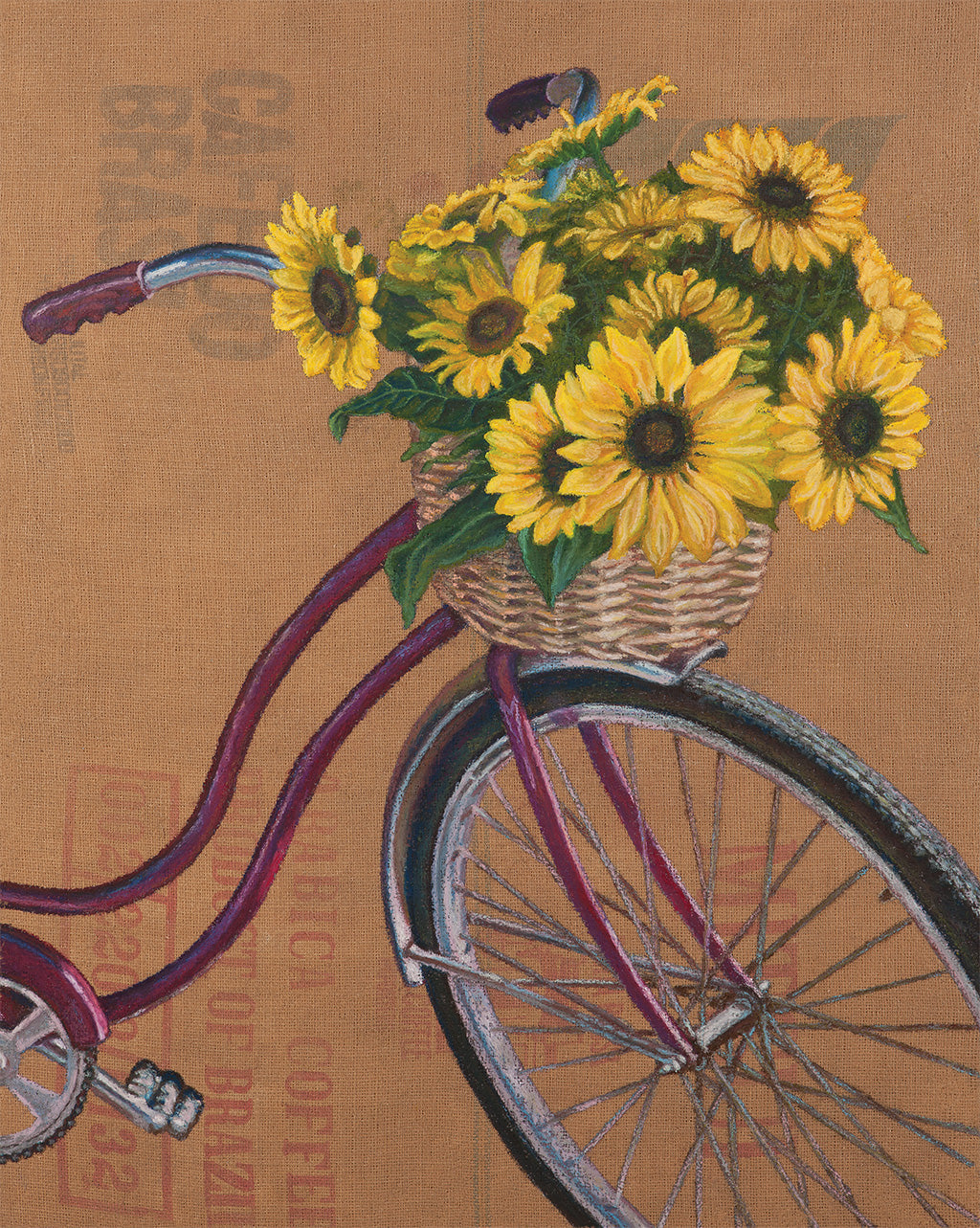 Sunflower Bicycle