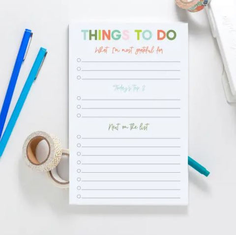 Good Intentions Notepad