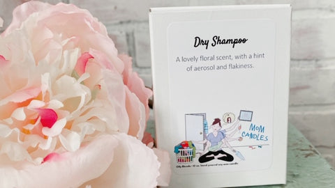 Dry Shampoo Mom Candle
