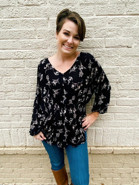 Bring Me Flowers Tunic Top
