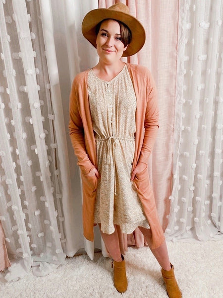 Prairie Princess Midi Dress