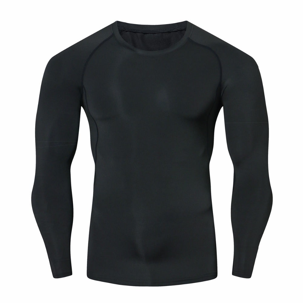 Pure Black Combat BJJ Long Sleeve Shirt