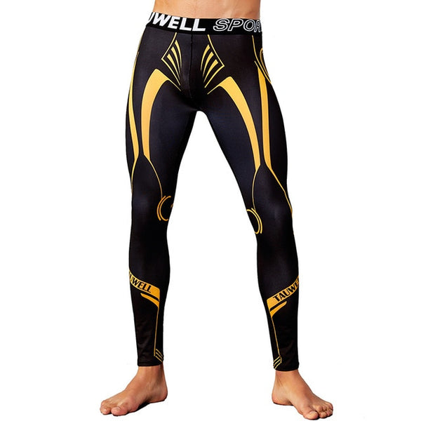 Combat Spats Gold/Black
