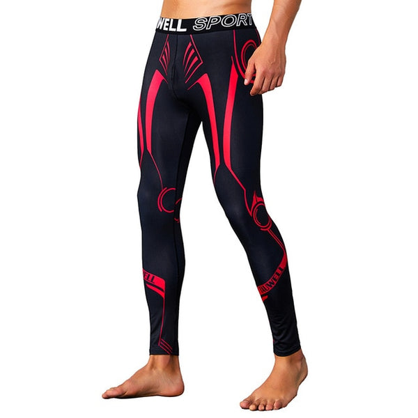 Combat Spats Red/Black