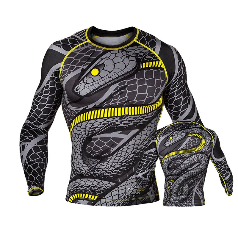 The Snake BJJ Long Sleeve Shirt