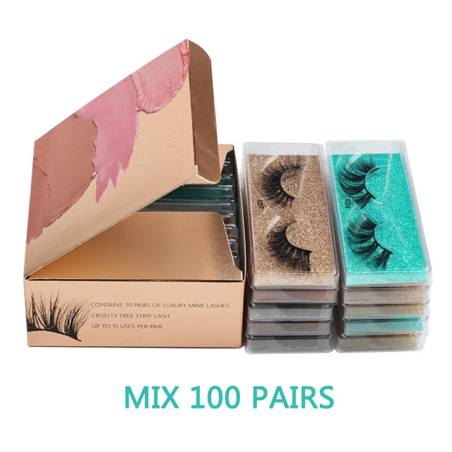 Eyelashes 3d Mink Lashes Mink Eyelashes Natural Soft