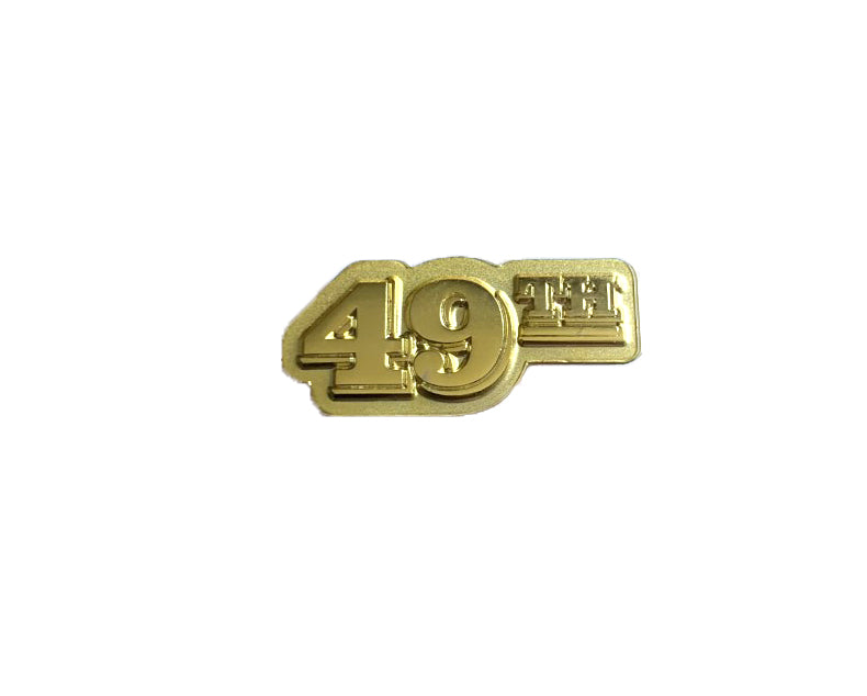 49th State Brewing Company Beer Pin Gold