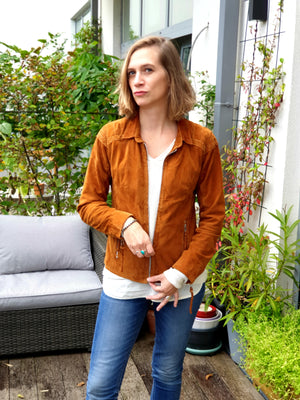 Lea&Jack Brown Suede Jacket