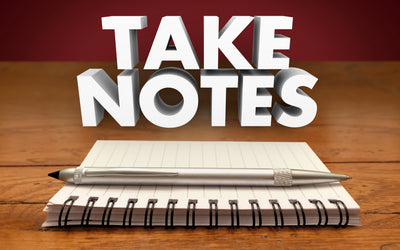 Note Taking Tips That Help Make the Grade