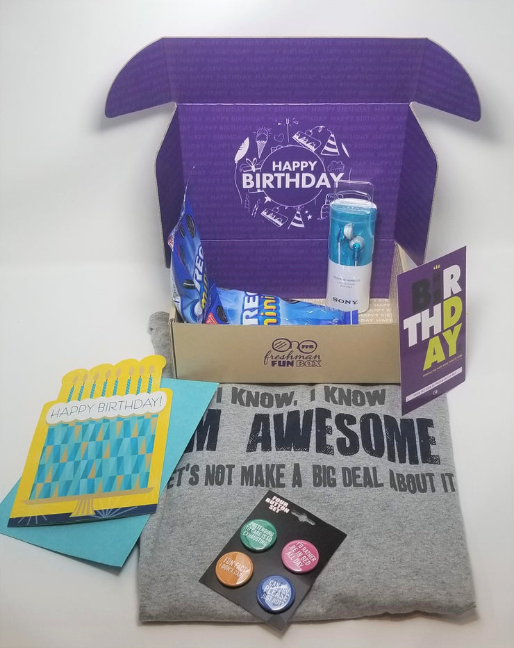 Custom Birthday Box