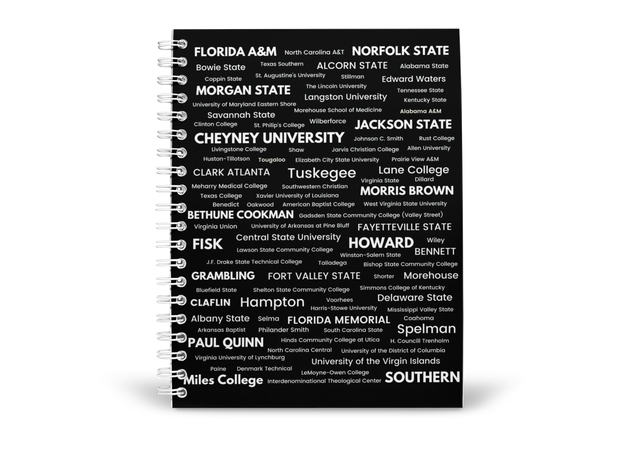 HBCU College-Ruled Notebook