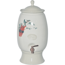 Australian Flora Water Purifier 12 Litres with Royal Doulton Filter Sturt Desert pea