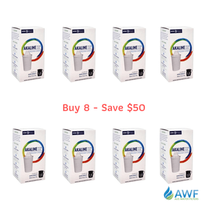 Enviro Products Alkaline Pitcher Filter 8 Pack