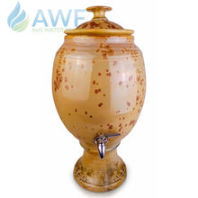 Peter Wallace Pottery Ceramic Water Filter Gold