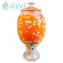 Peter Wallace Pottery Ceramic Water Filter Orange