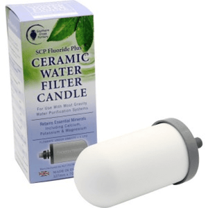 SCP Fluoride Plus Filter Candle Side