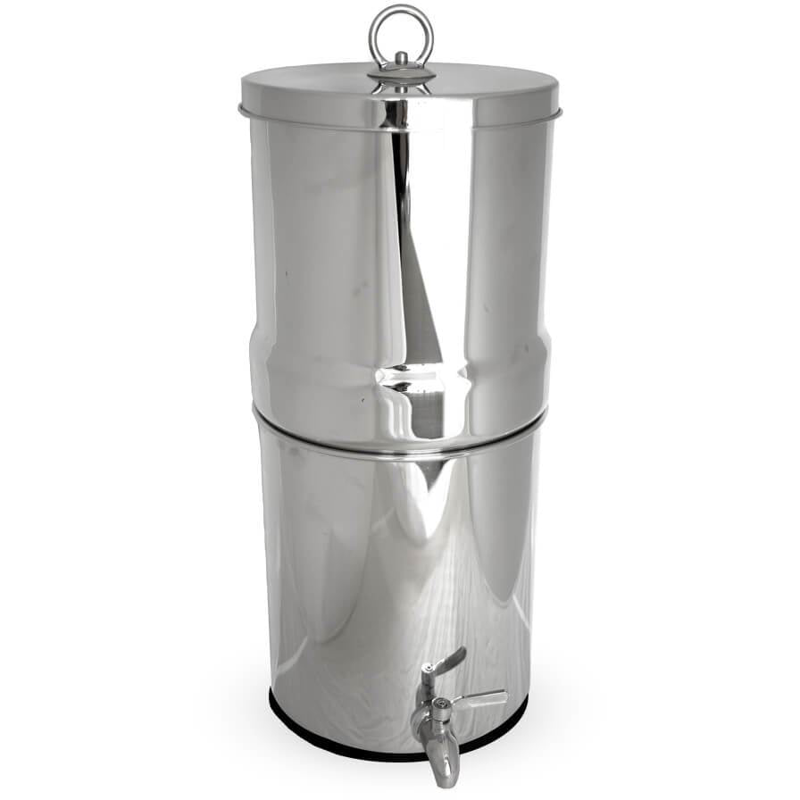 Pure Stainless Steel Gravity Filter