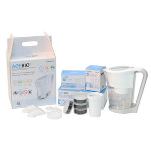 WATERS CO ACEPOT BIO+ WATER FILTER JUG FULL SET