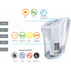 WATERS CO ACEPOT BIO+ WATER FILTER JUG INFO
