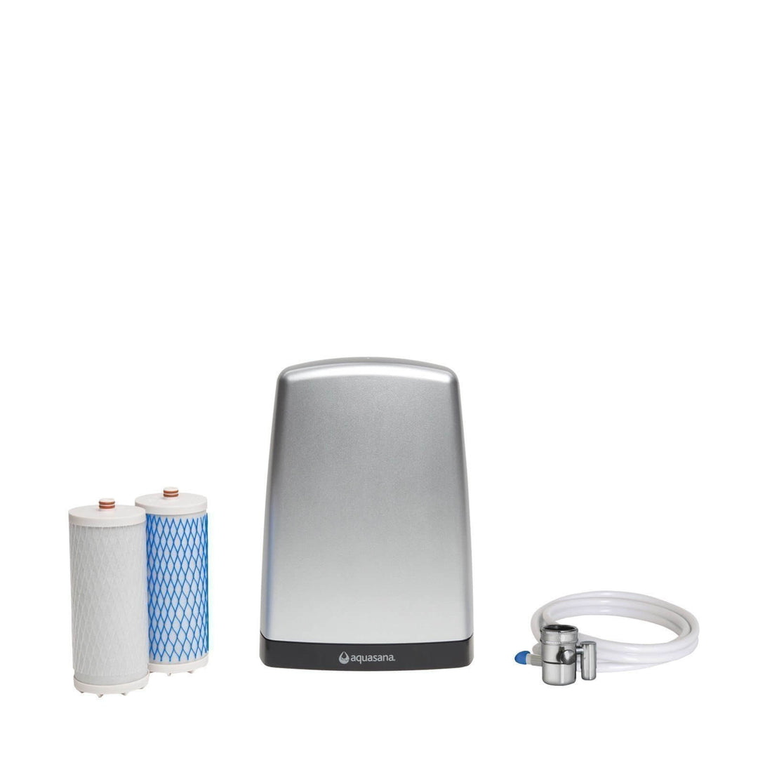 Aquasana Countertop Water Filter AQ 4000 Chrome