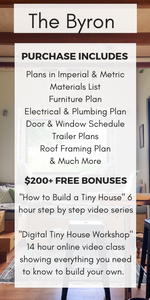 Digital Plans: The Byron Tiny House