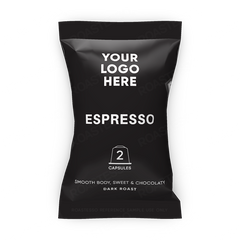 Roastesso Hotel Private Label Capsule Espresso Nespresso Compatible Pods