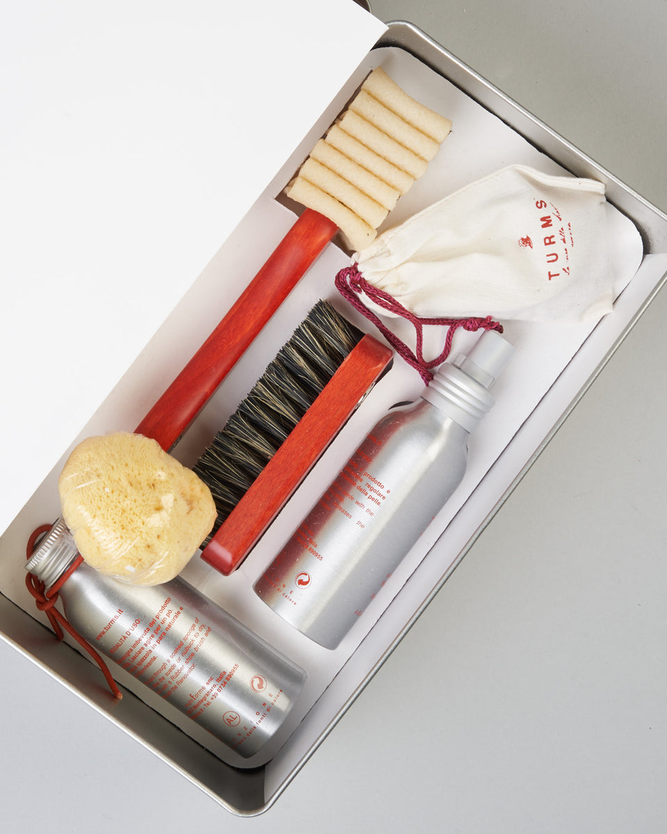 Complete Shoe Care Kit for Suede