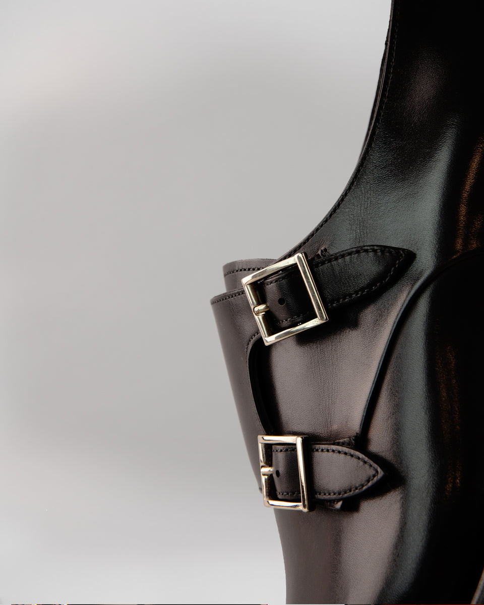 Double Buckle | Black