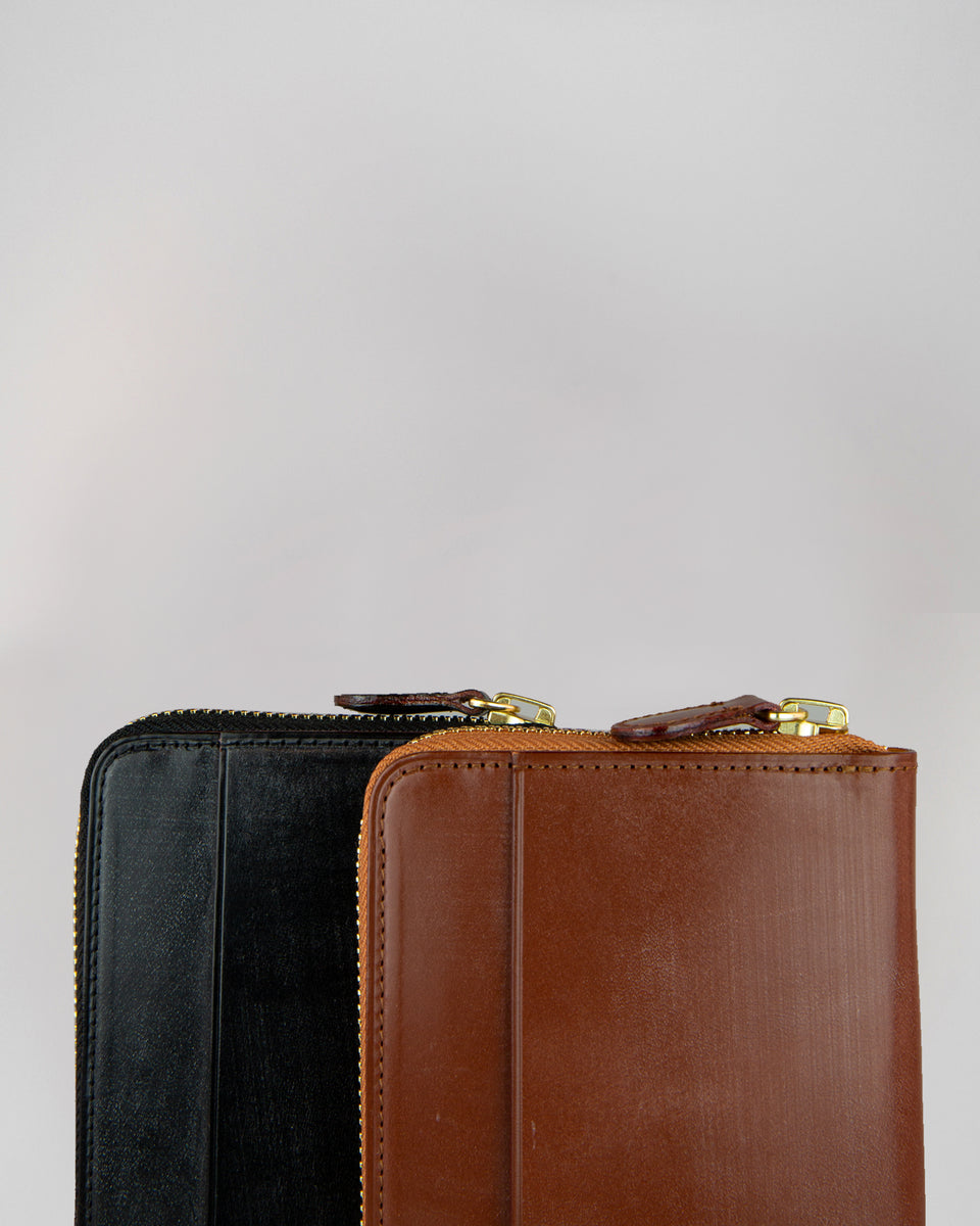 Long Wallet Round Zip | Hazel
