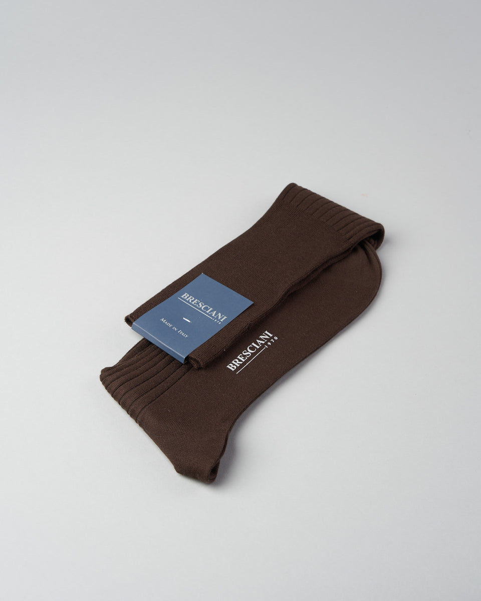 Knee-high Sock | Caffe | Organic Cotton