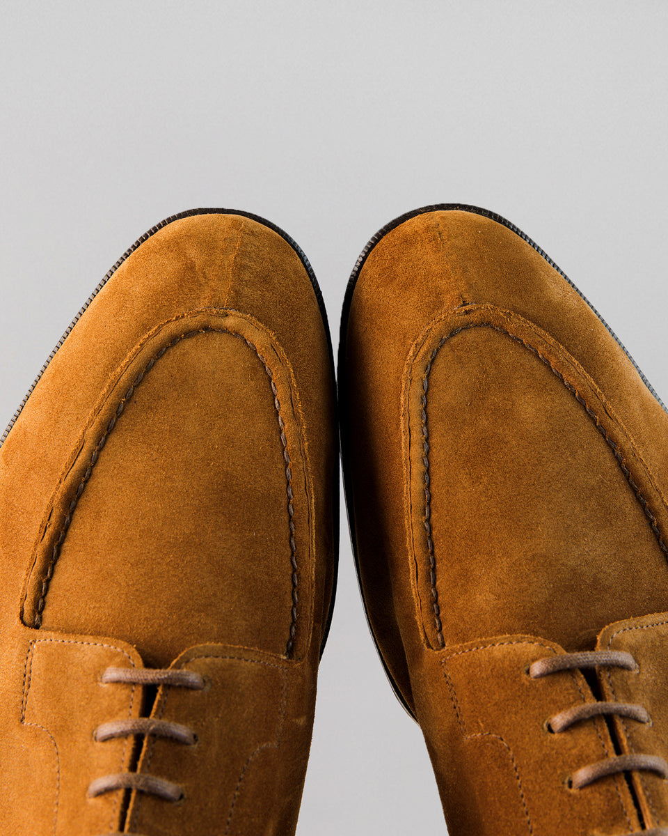 Dover | Unlined | Suede | Tobacco