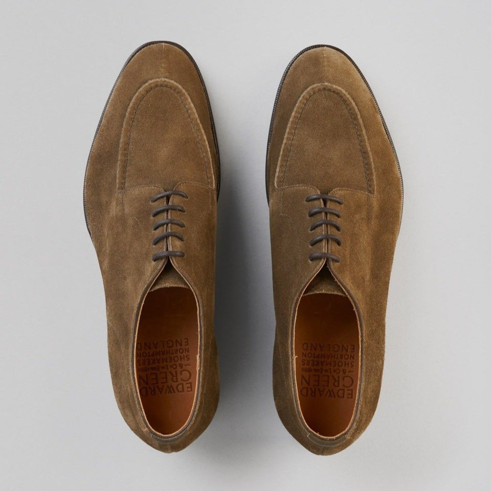 Dover | Unlined | Suede | Loden Green
