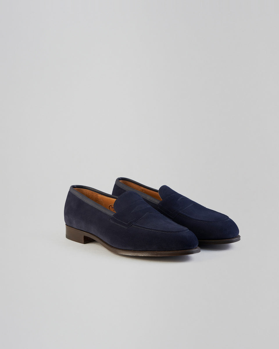 Piccadilly | Suede | Navy