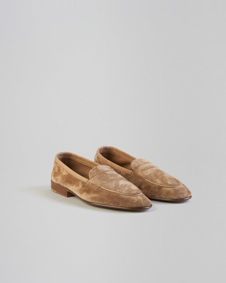 Polperro | Unlined | Suede | Sand