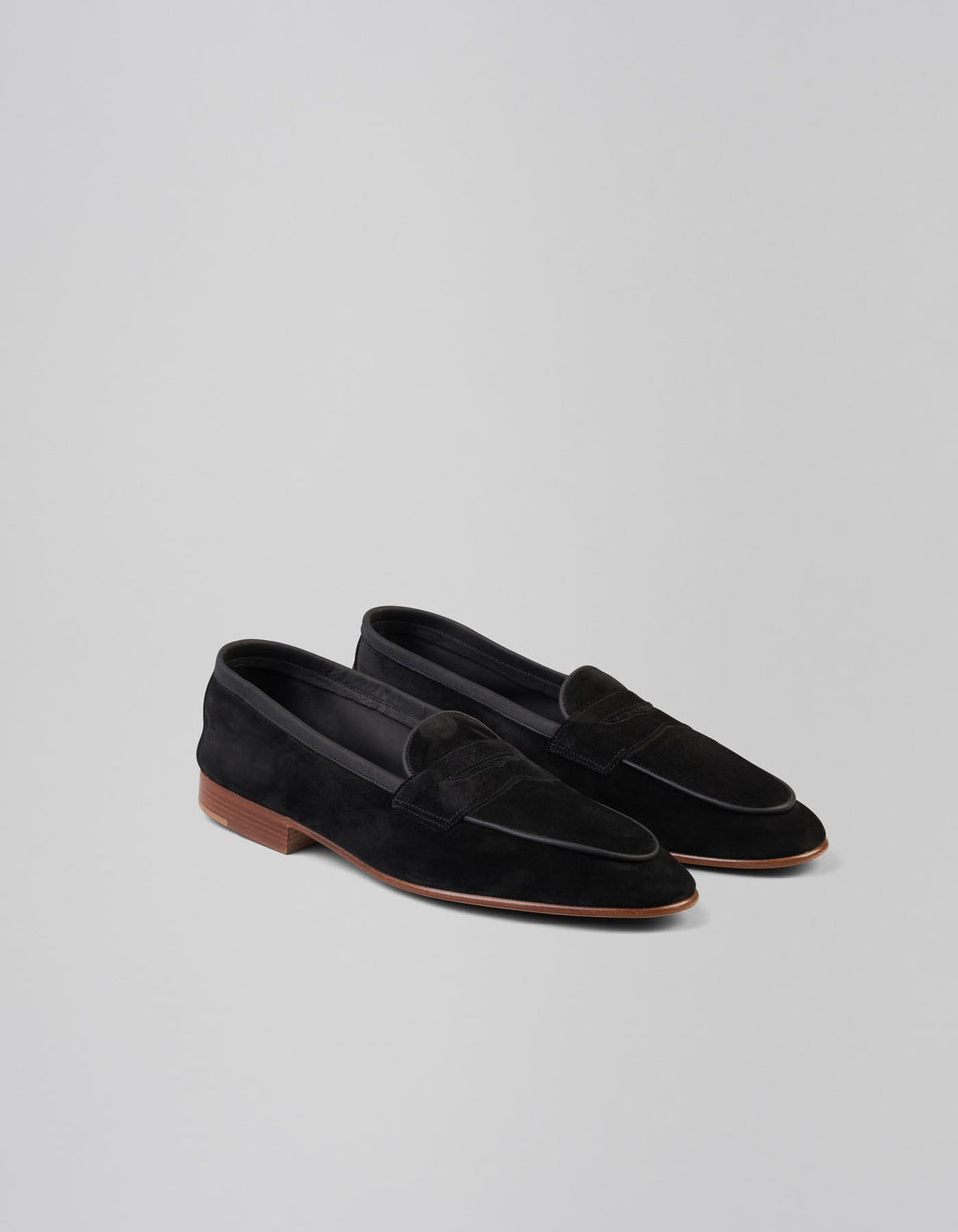 Polperro | Unlined | Suede | Black