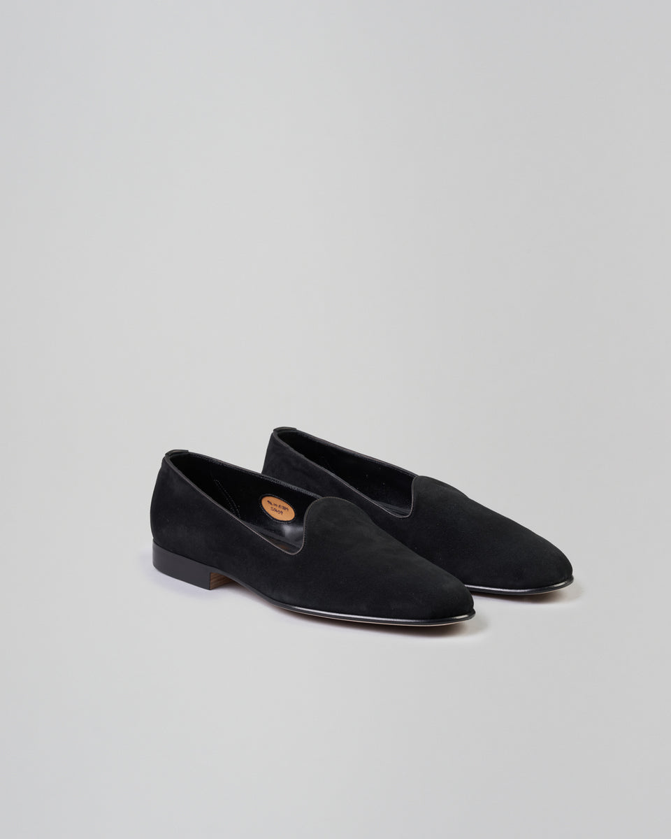 Albert | Slipper | Suede | Black