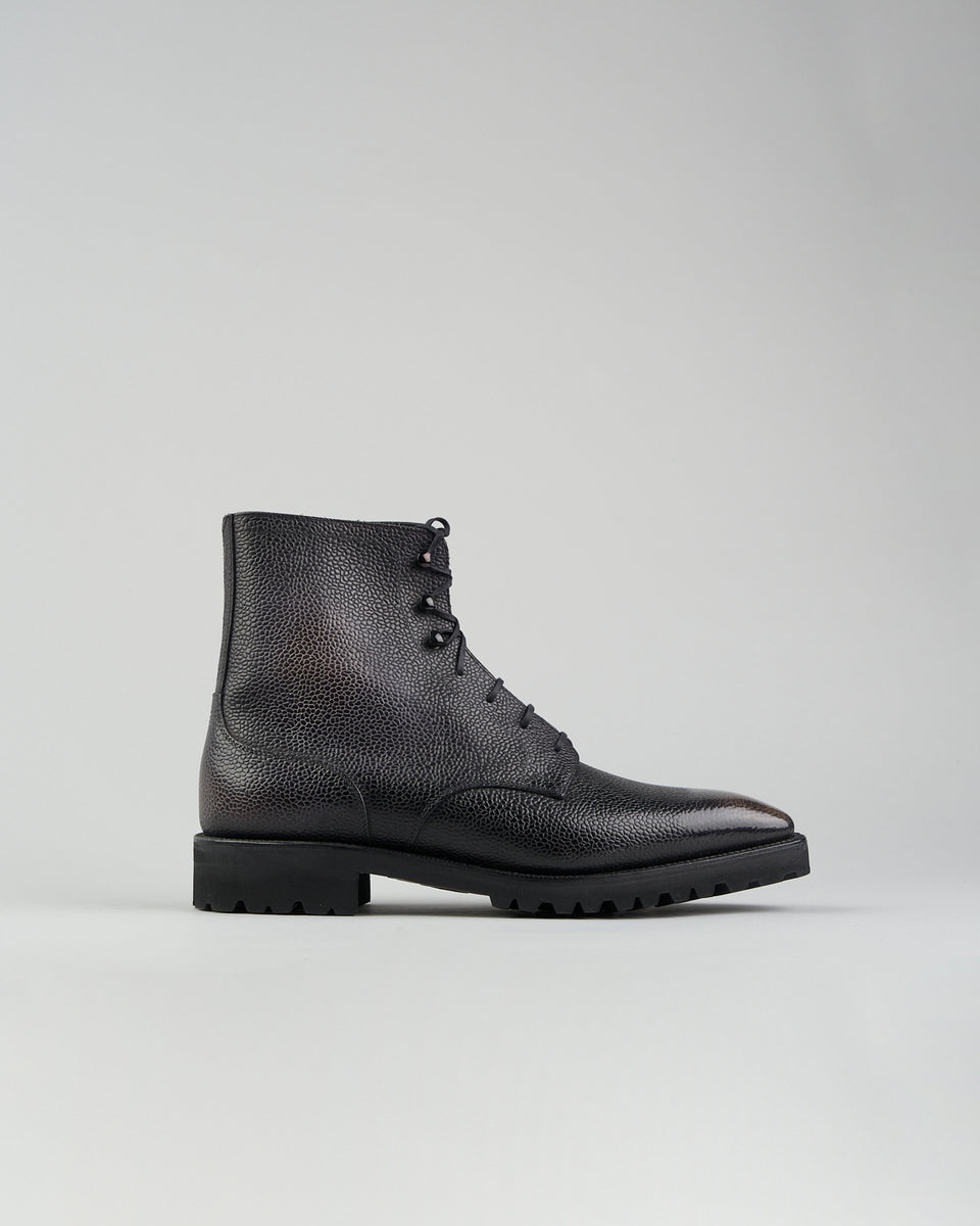 Derby Simple Boot | Dark Grey
