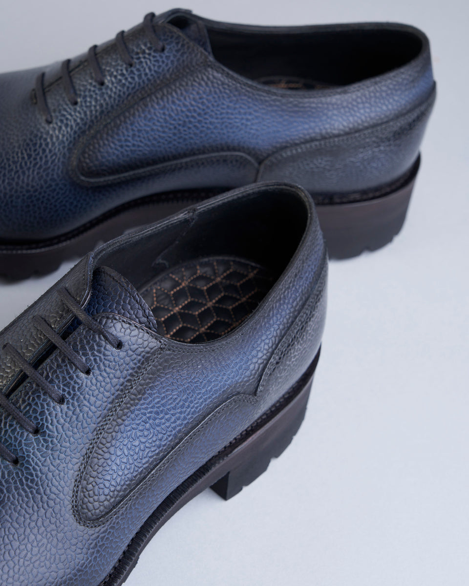 Balmoral Simple Shoe | Grain | Mediterranean Blue