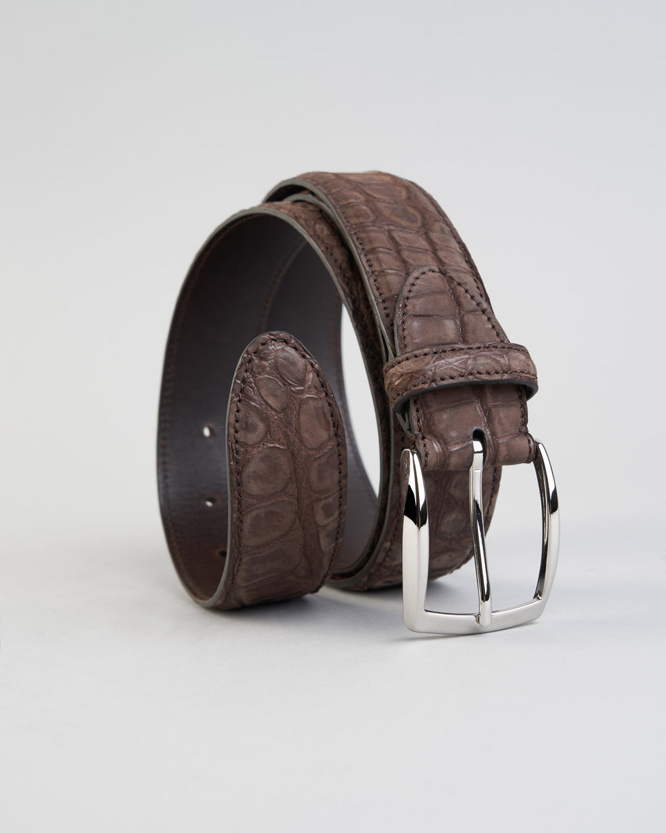Belt | Crocodile Nubuk | Morone