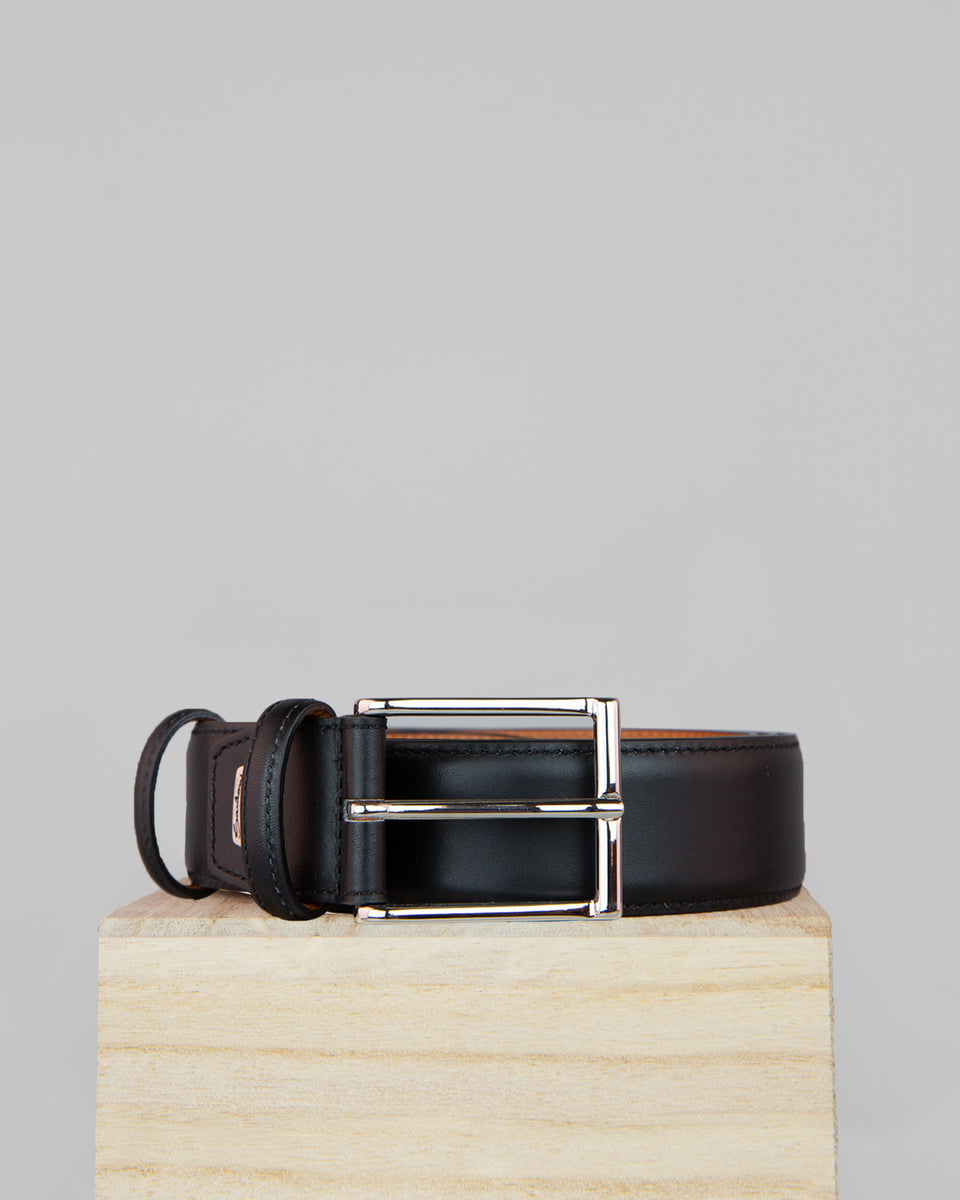 Leather Belt | Anthracite