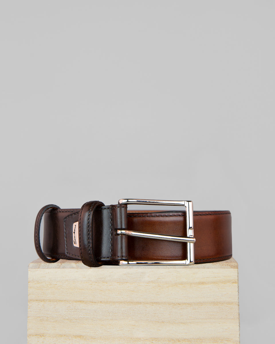Belt | Leather | Dark Brown
