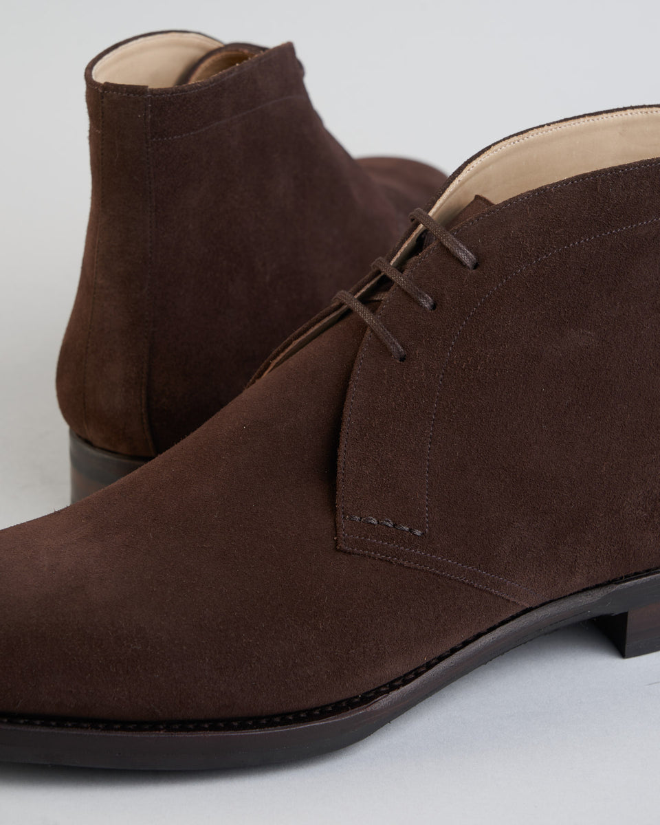 Chukka | Suede | Dark Brown