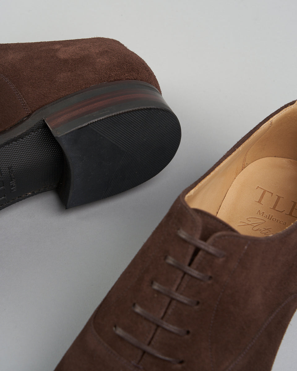 Toecap | Suede | Dark Brown