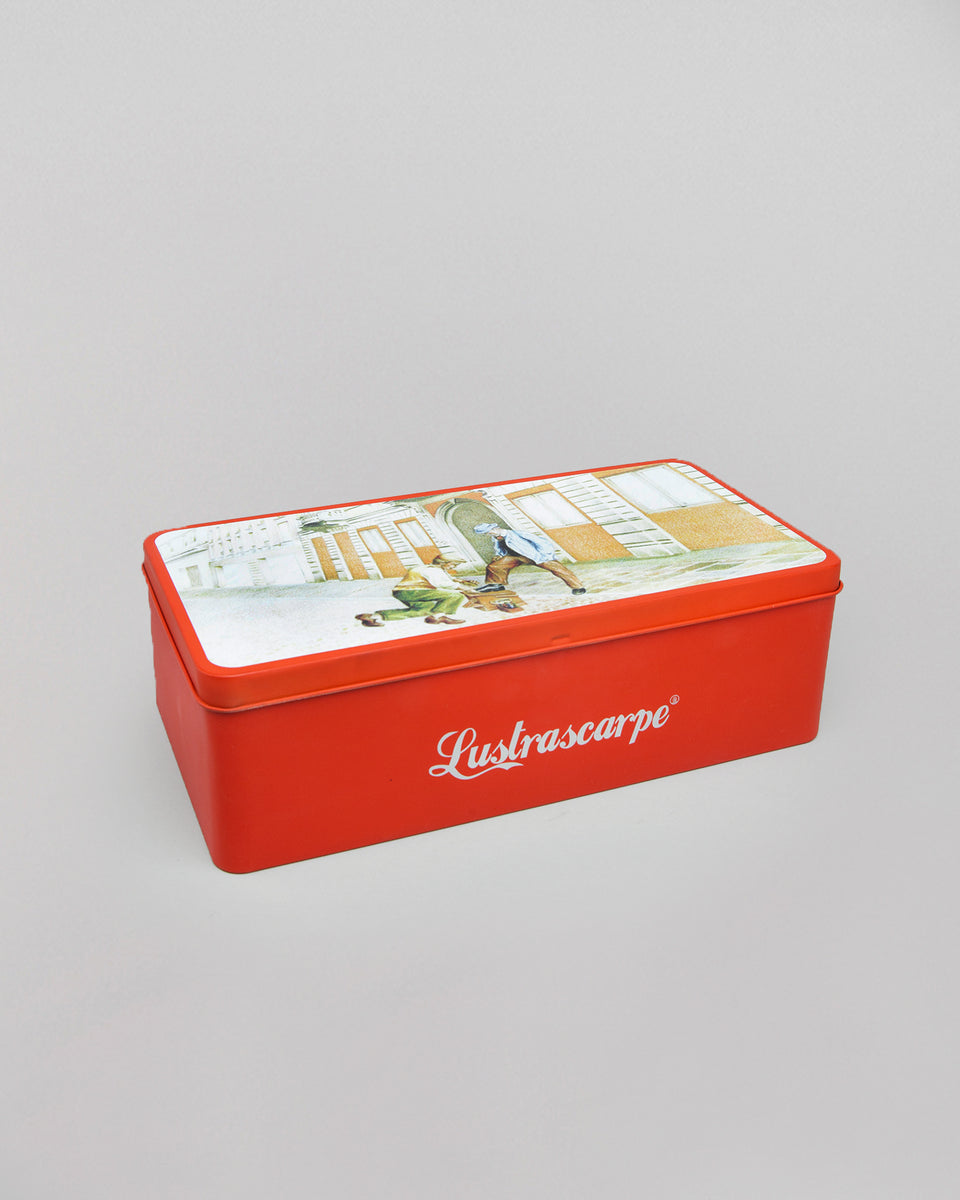 Shoe Care Kit in Metal Tin