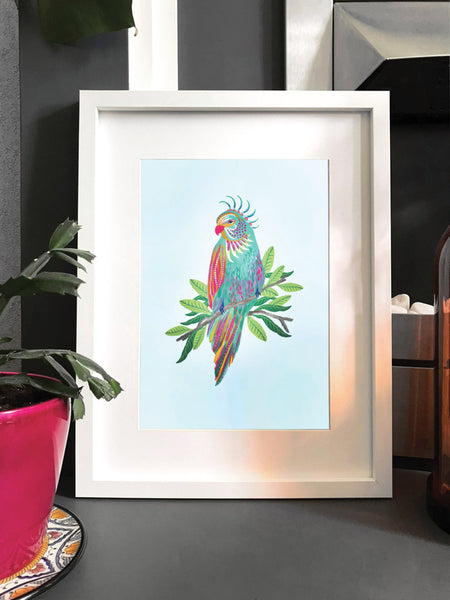 Painted Parrot